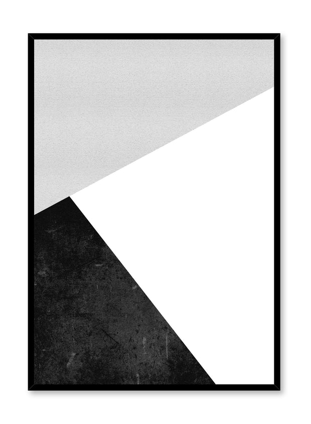 Scandinavian poster by Opposite Wall with abstract graphic Side Angle design