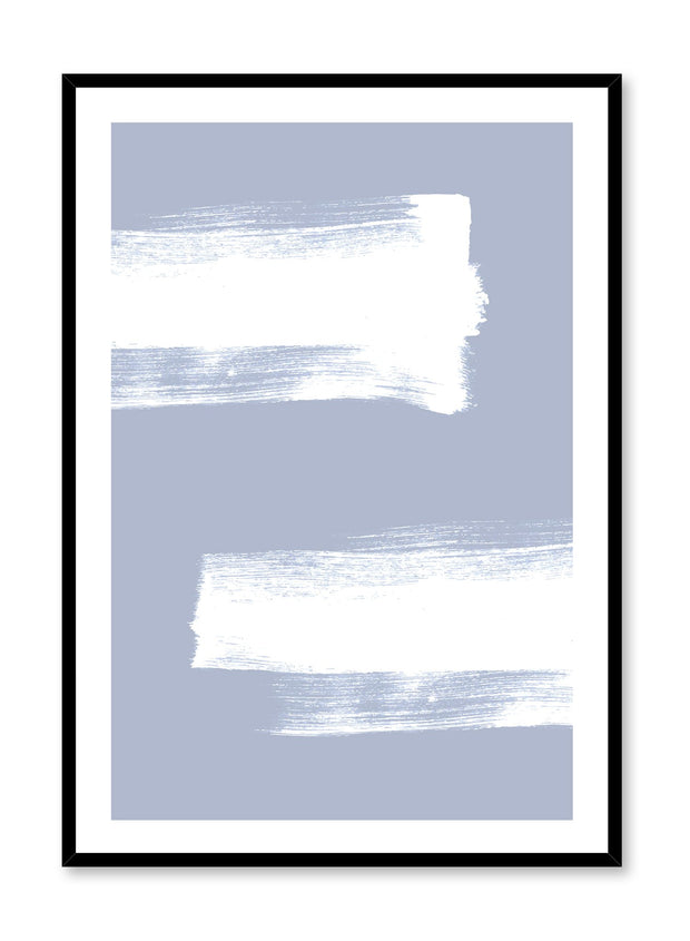 minimalist art print by Opposite Wall with Strokes abstract design