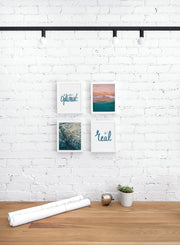 Scandinavian poster by Opposite Wall with trendy design - Personal office