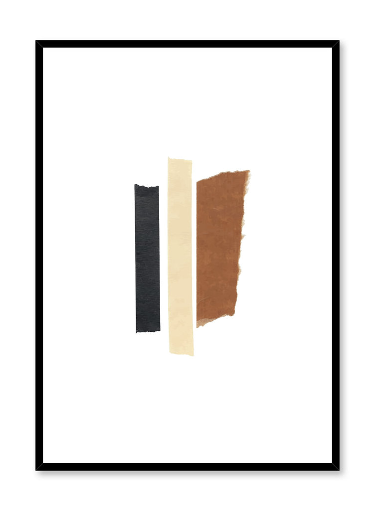 Modern minimalist poster by Opposite Wall with Abstract Collage No.2