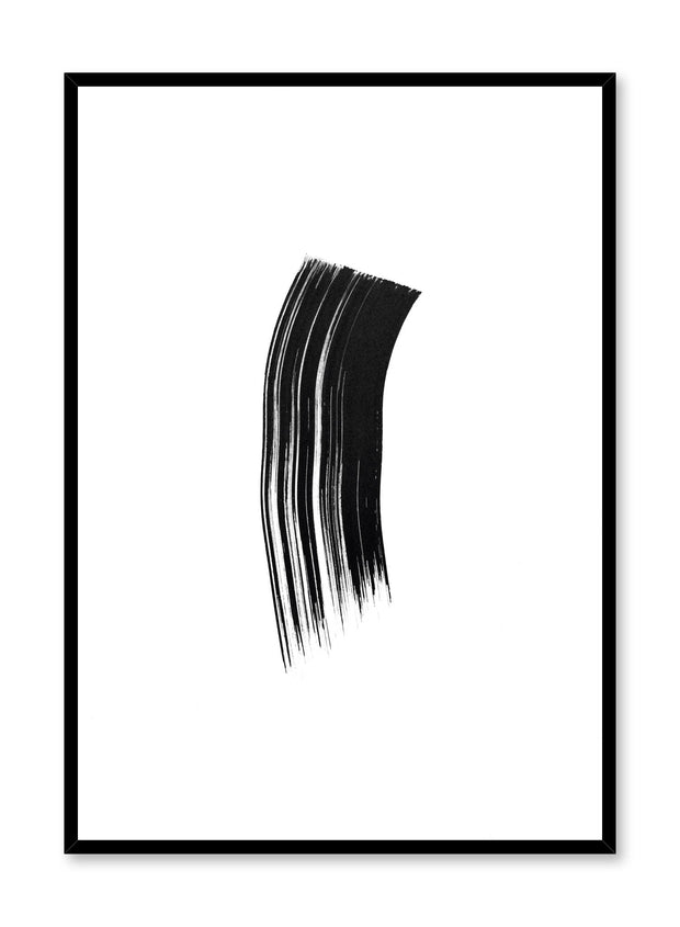 Modern minimalist poster by Opposite Wall with black ink design