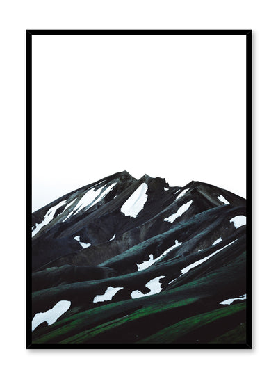 Scandinavian art print by Opposite Wall with trendy mountain art photo