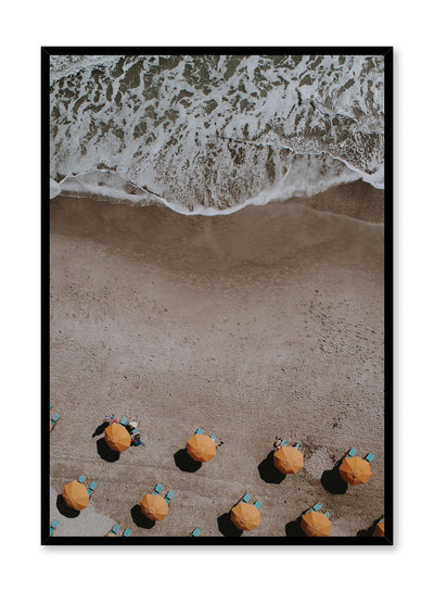 Minimalist design poster by Opposite Wall with beach landscape photography