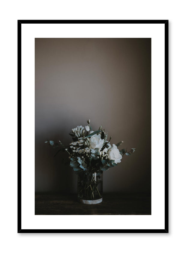 Minimalist design poster by Opposite Wall with elegant bouquet photography