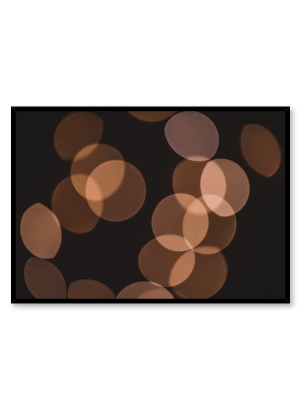 Minimalist design poster by Opposite Wall with Light Reflection photography