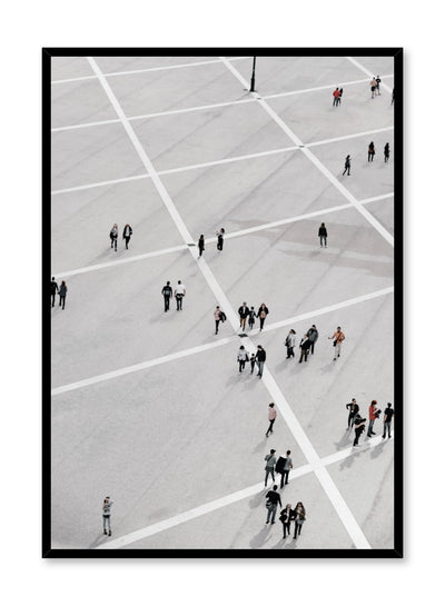 Minimalist design poster by Opposite Wall with urban street photography