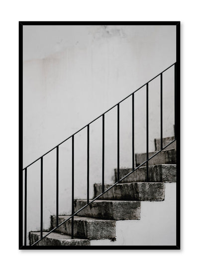 Minimalist design poster by Opposite Wall with Staircase photography