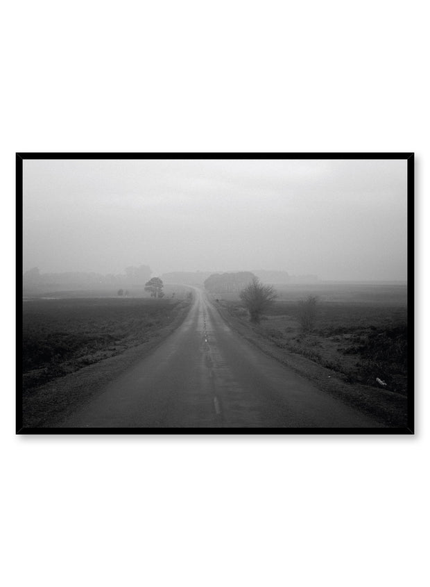 Minimalist design poster by Opposite Wall with Into the Mist photography