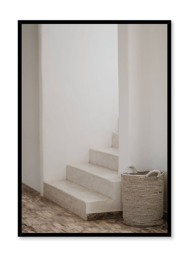Minimalist design poster by Opposite Wall with Stairs photography