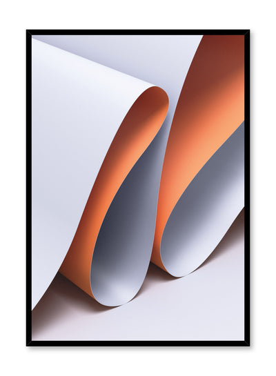 Minimalist design poster by Opposite Wall with abstract folded paper