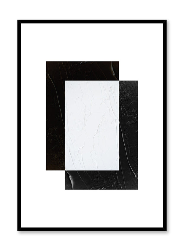 Minimalist design poster by Opposite Wall with abstract square shapes