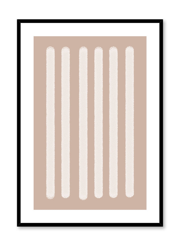 Minimalist design poster by Opposite Wall with abstract beige rectangle shapes