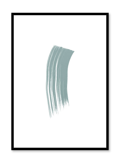 Modern minimalist poster by Opposite Wall with mint green design