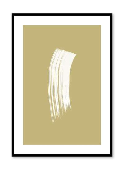 Modern minimalist poster by Opposite Wall with gold and white design