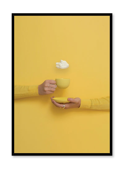 Minimalist design poster by Opposite Wall yellowillow Touch of Cloud