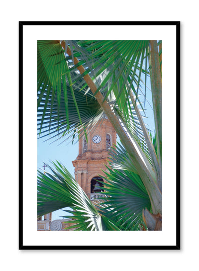 Minimalist design poster by Opposite Wall with photography of southern monument clock tower