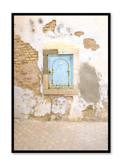 Minimalist design poster by Opposite Wall with photography of moorish window
