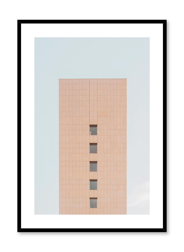 Minimalist design poster by Opposite Wall with urban photography of high rise building