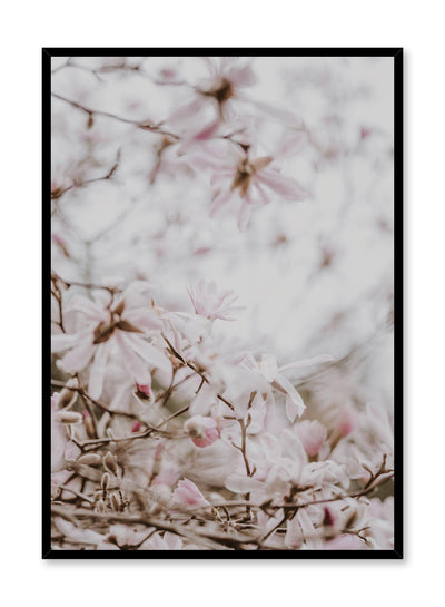 Minimalist design poster by Opposite Wall with Bird view floral photography