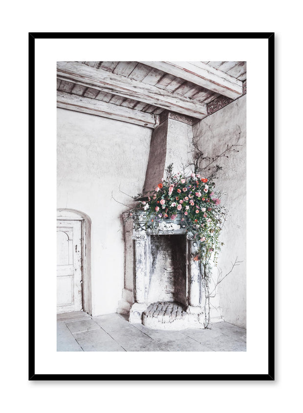 Minimalist design floral photography poster of Corner Bouquet by Love Warriors Creative Studio - Buy at Opposite Wall