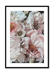 Minimalist design floral photography poster of Petals by Love Warriors Creative Studio - Buy at Opposite Wall