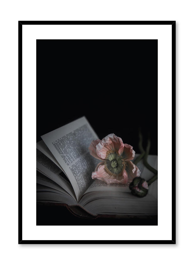 Minimalist design floral photography poster of Flowermark by Love Warriors Creative Studio - Buy at Opposite Wall