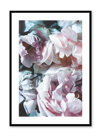 Minimalist design floral photography poster of Droopy Petals by Love Warriors Creative Studio - Buy at Opposite Wall