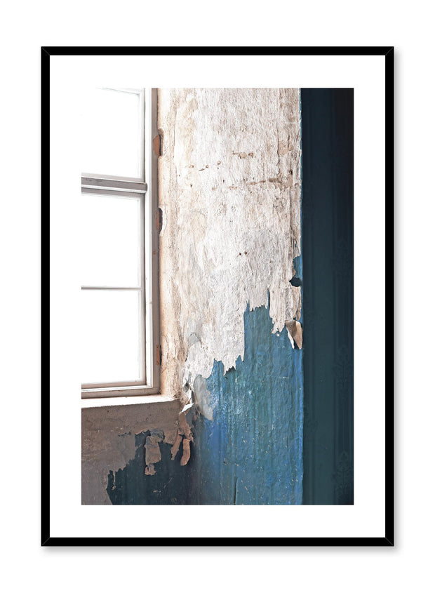 Minimalist design photography poster of peeling paint by Love Warriors Creative Studio - Buy at Opposite Wall