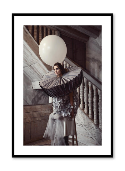 Minimalist design photography poster of Flamboyance costume by Love Warriors Creative Studio - Buy at Opposite Wall