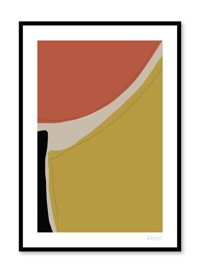 Minimalist abstract art design Lisa Wirenfelt - find at Opposite Wall