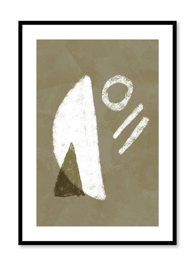 Modern minimalist poster by Opposite Wall with abstract design of Toffie Affichiste