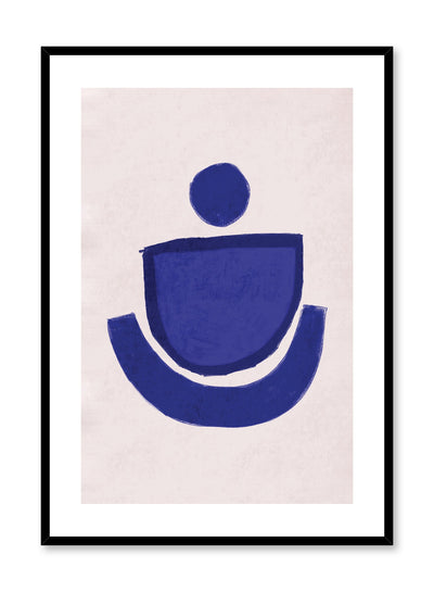 Modern minimalist poster by Opposite Wall with abstract design of Cup Royale by Toffie Affichiste