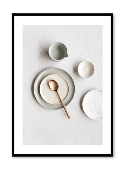 Minimalist poster by Opposite Wall with Expecting plates photography