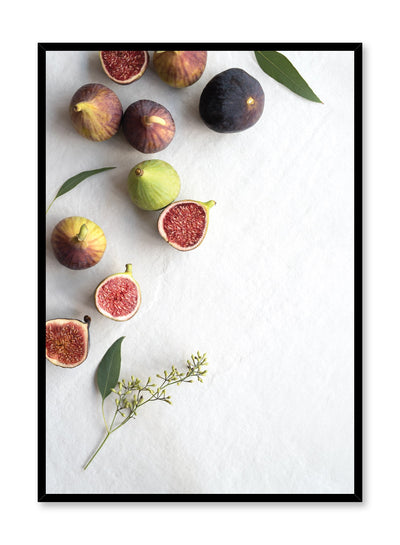 Scandinavian poster by Opposite Wall with figs photography on white
