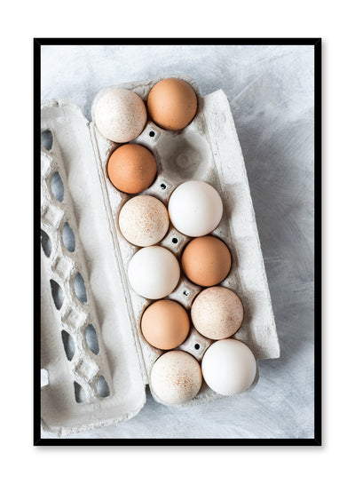 Scandinavian poster by Opposite Wall with Sunny Side Up egg food photography