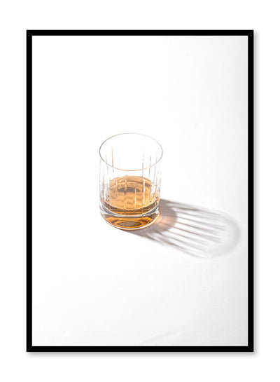 Minimalist poster by Opposite Wall with Scotch drink photography