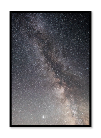 Celestial photography poster by Opposite Wall with Milky Way Galaxy