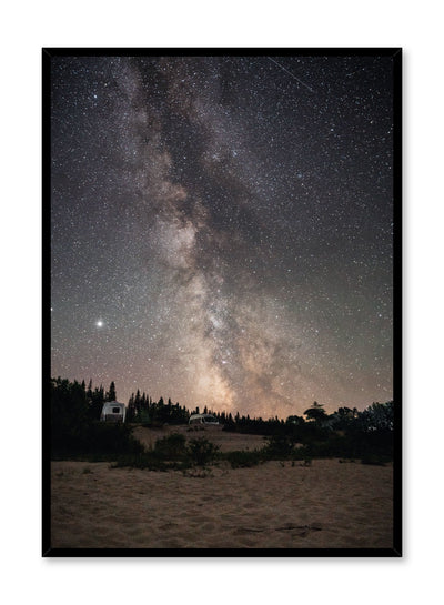 Celestial photography poster by Opposite Wall with Under The Stars