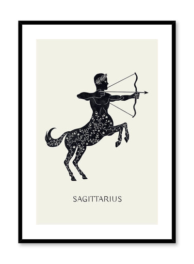 Celestial illustration poster by Opposite Wall with Sagittarius drawing