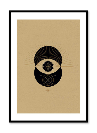 Abstract celestial illustration poster by Opposite Wall with Eclipse