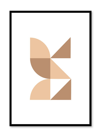 Minimalist design poster by Opposite Wall with Butterfly Effect abstract graphic design