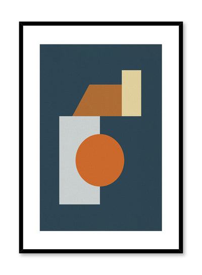 Minimalist design poster by Opposite Wall with Down Below abstract graphic design