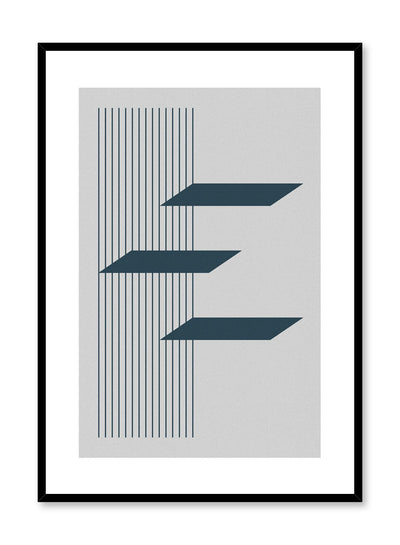 Minimalist design poster by Opposite Wall with Float abstract graphic design
