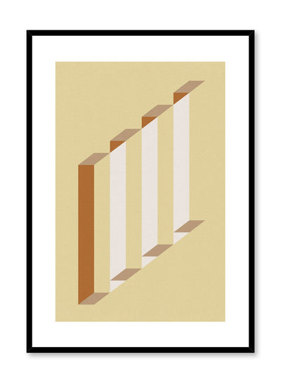 Minimalist design poster by Opposite Wall with Elevate abstract graphic design