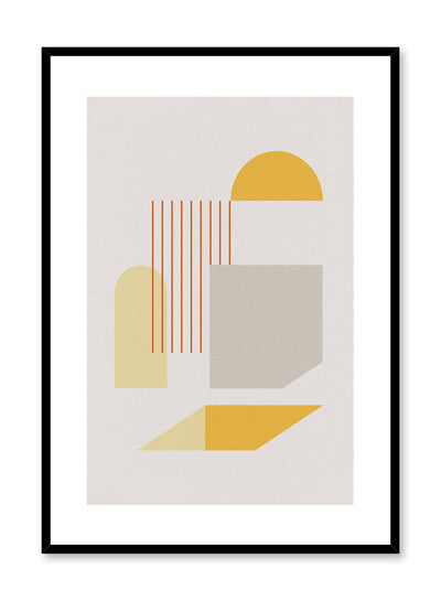 Minimalist design poster by Opposite Wall with Obstacle Course abstract graphic design