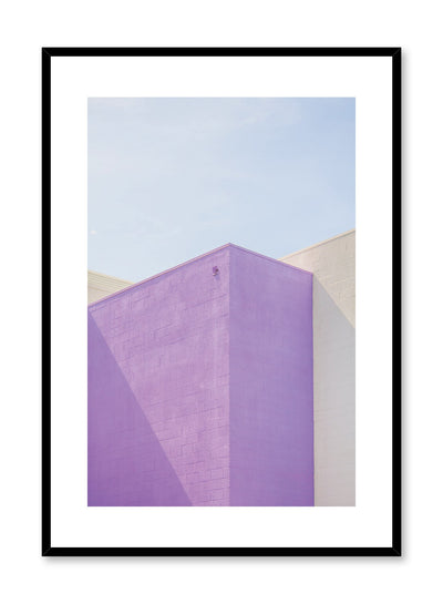 Modern minimalist colourful architecture photography - Fresh Colour poster