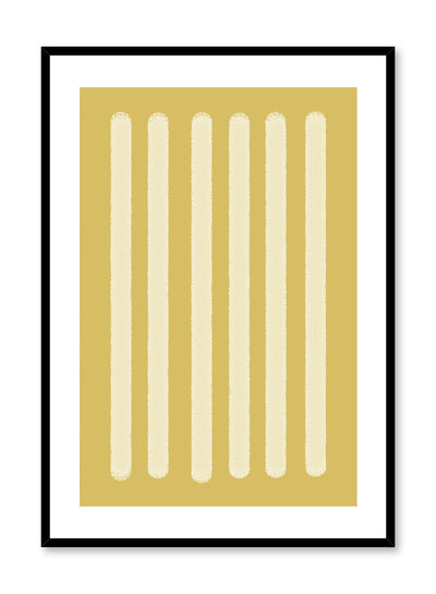 Minimalist design poster by Opposite Wall with abstract yellow rectangle shapes
