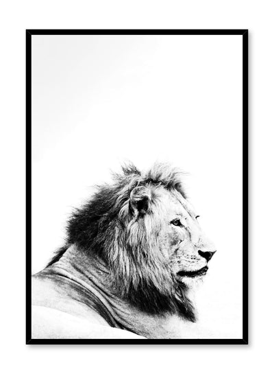 Kids nursery photography poster by Opposite Wall with Lion