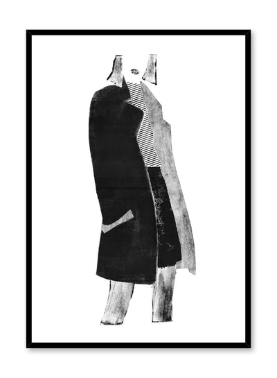 Fashion illustration poster by Opposite Wall with woman in professional clothing
