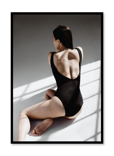 Fashion photography poster by Opposite Wall with Backless woman